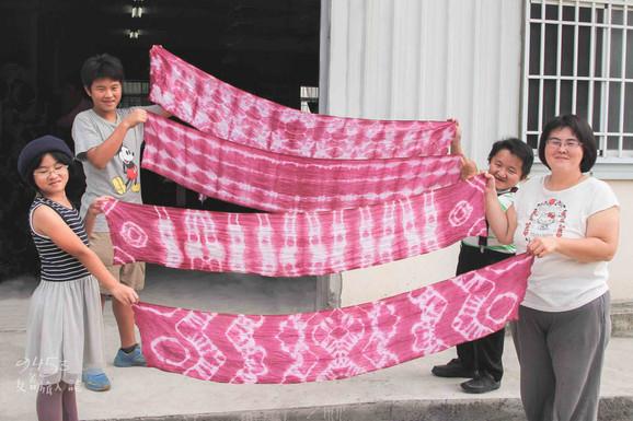 9453|台南|草店植染、食農教育。彩繪上冬日暖意