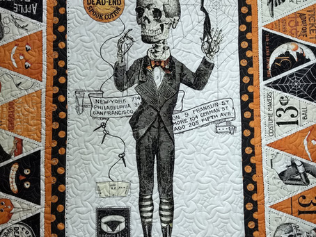 Soft and Spooky Quilt