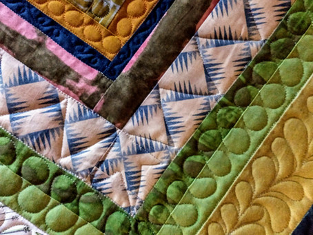 Quilting Improv Quilts - Rulers & Free Motion