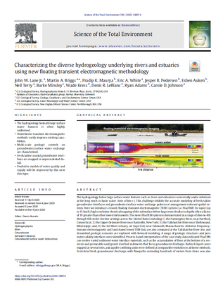 Characterizing the diverse hydrogeology underlying rivers and estuaries using new floating transient electromagnetic methodology