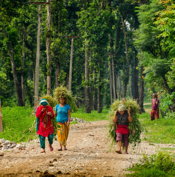 Working with Women Farmers in Rural Nepal