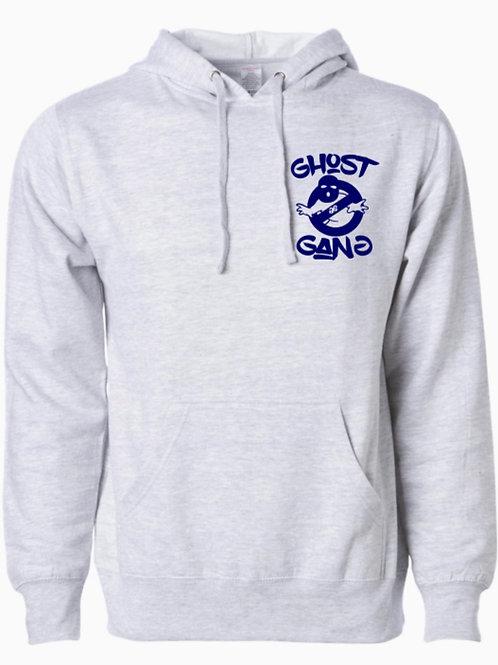 Light Gray/Blue Ghost Gang Hoodie