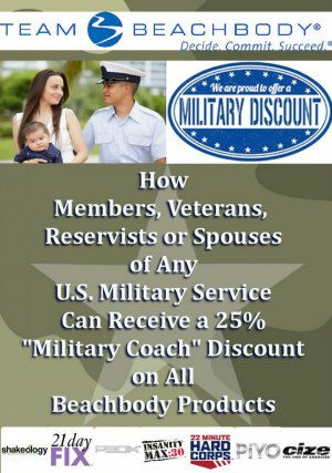 Beachbody's Military Discount Progra