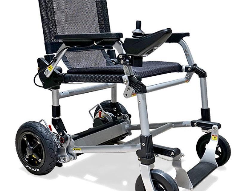 Joyrider Electric Folding Wheelchair