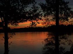 Sunset Pickeral Lake