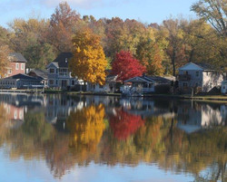 Long Lake Fall Colors