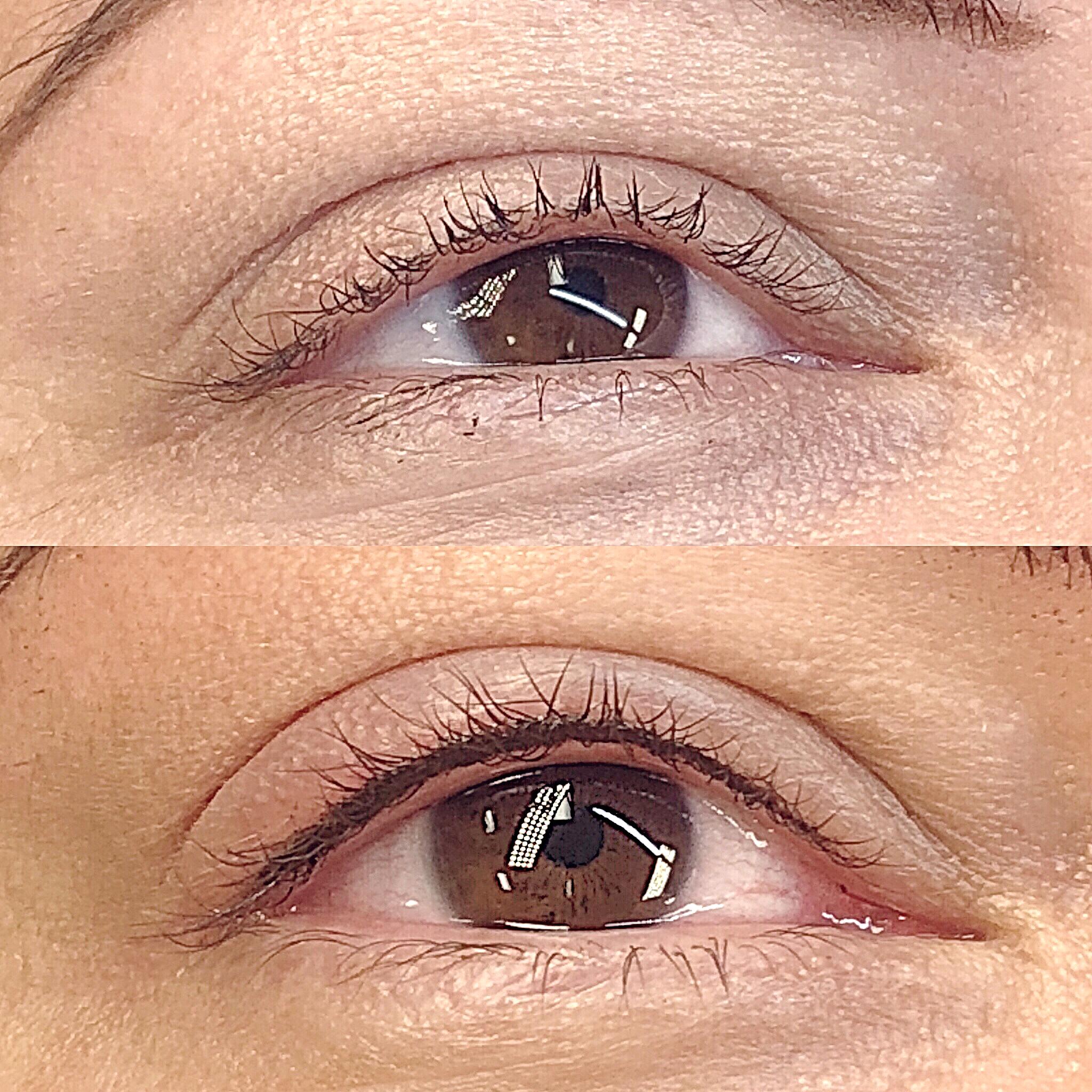 Eyelash line enchantment.