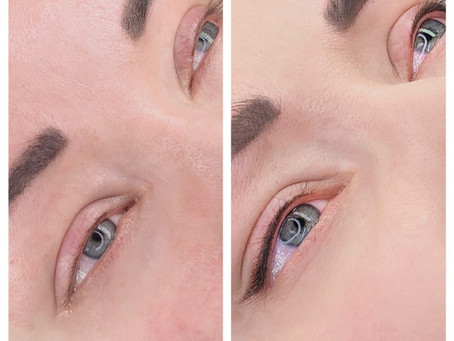 Permanent eyeliner that looks super soft and beautiful!