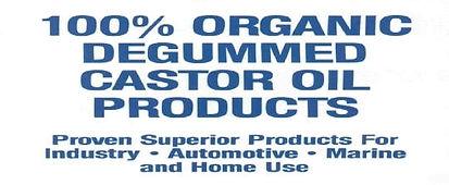 TRIZOL | 100% Organic Degummed Castor Oil Products