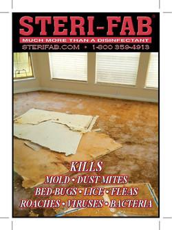 Sterifab Ad - Kills mold, mites