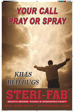 Sterifab Ad - Kills bed bugs