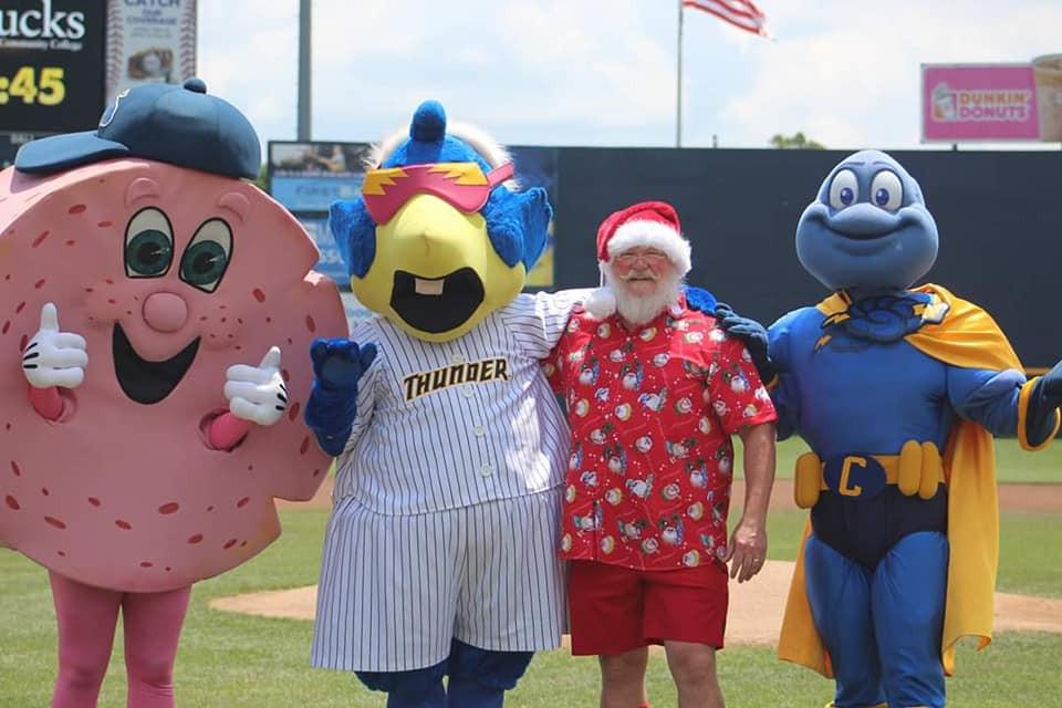 Trenton Thunder Mascots