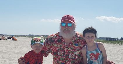 Santa caught on the OC beach!