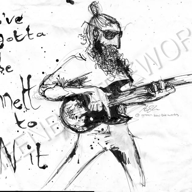 Tom Sinnett Character Sketch