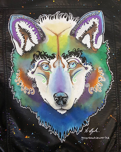 Wolf Reclaimed Leather Jacket