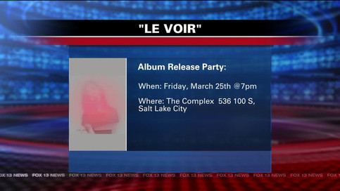 Le Voir Performs on Fox13's Good Day Utah
