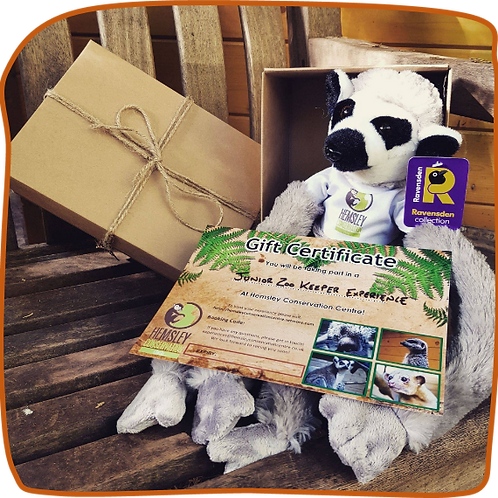 Junior Zookeeper with Gift Pack