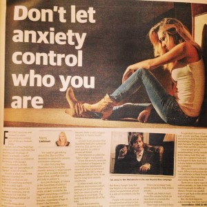 Don't Let Anxiety Control Who You Are