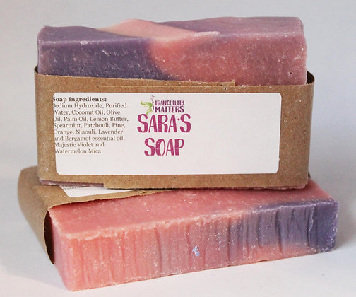 Bar Soap - Sara's Soap