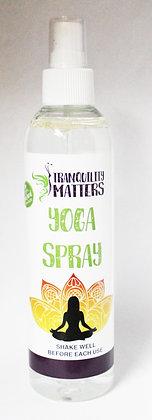 Yoga Mat Spray - Yellow Lotus Flower