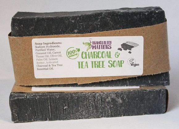 Bar Soap - Charcoal Tea Tree