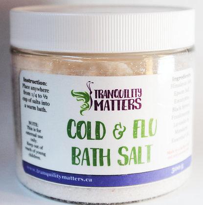 Himalayan & Epsom Bath Salts - Cold & Flu