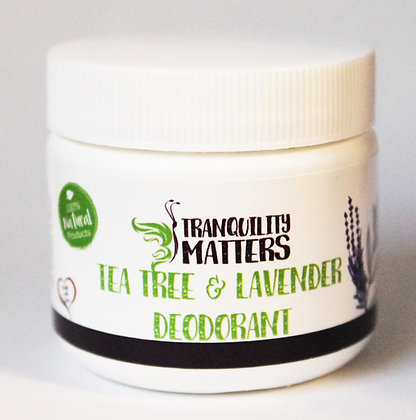 Deodorant - Lavender Tea Tree