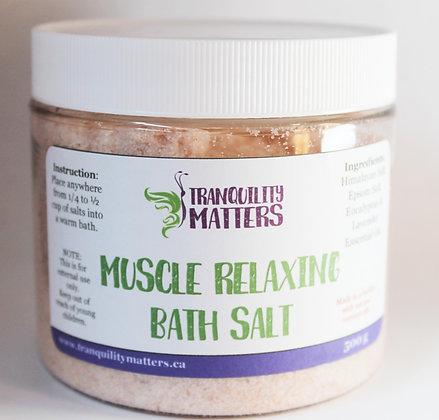 Himalayan & Epsom Bath Salts - Muscle Relaxing
