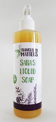 Liquid Soap/Body Wash - Sara's Soap