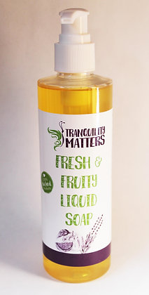 Liquid Soap/Body Wash - Fresh & Fruity