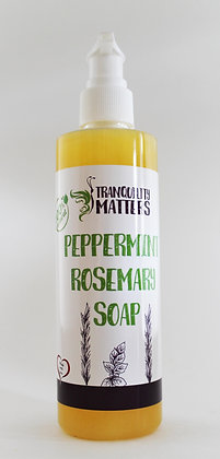 Liquid Soap/Body Wash - Peppermint Rosemary