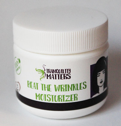Beat the Wrinkles Moisturizer