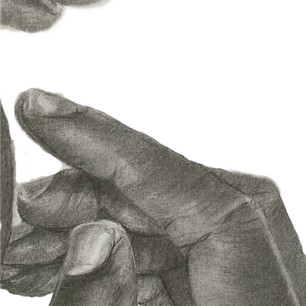 TBSXHands in charcoal and graphite