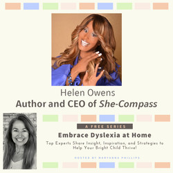 Helen Owens Embrace Dyslexia At Home