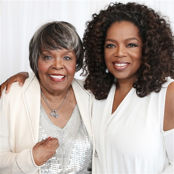 Oprah and her mother Vernita Lee