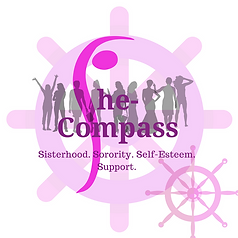 She-Compass Badge Logo