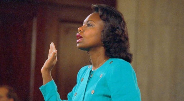 Twenty-seven years ago, Anita Hill testified before the Senate to share her account of alleged sexual impropriety by then Supreme Court Justice nominee Clarence Thomas.