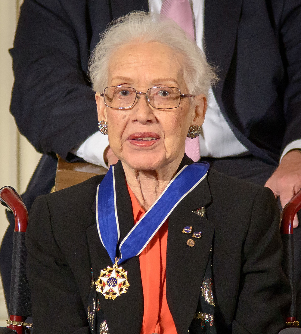 Katherine Johnson is rewarded the Presidential Medal of Freedom
