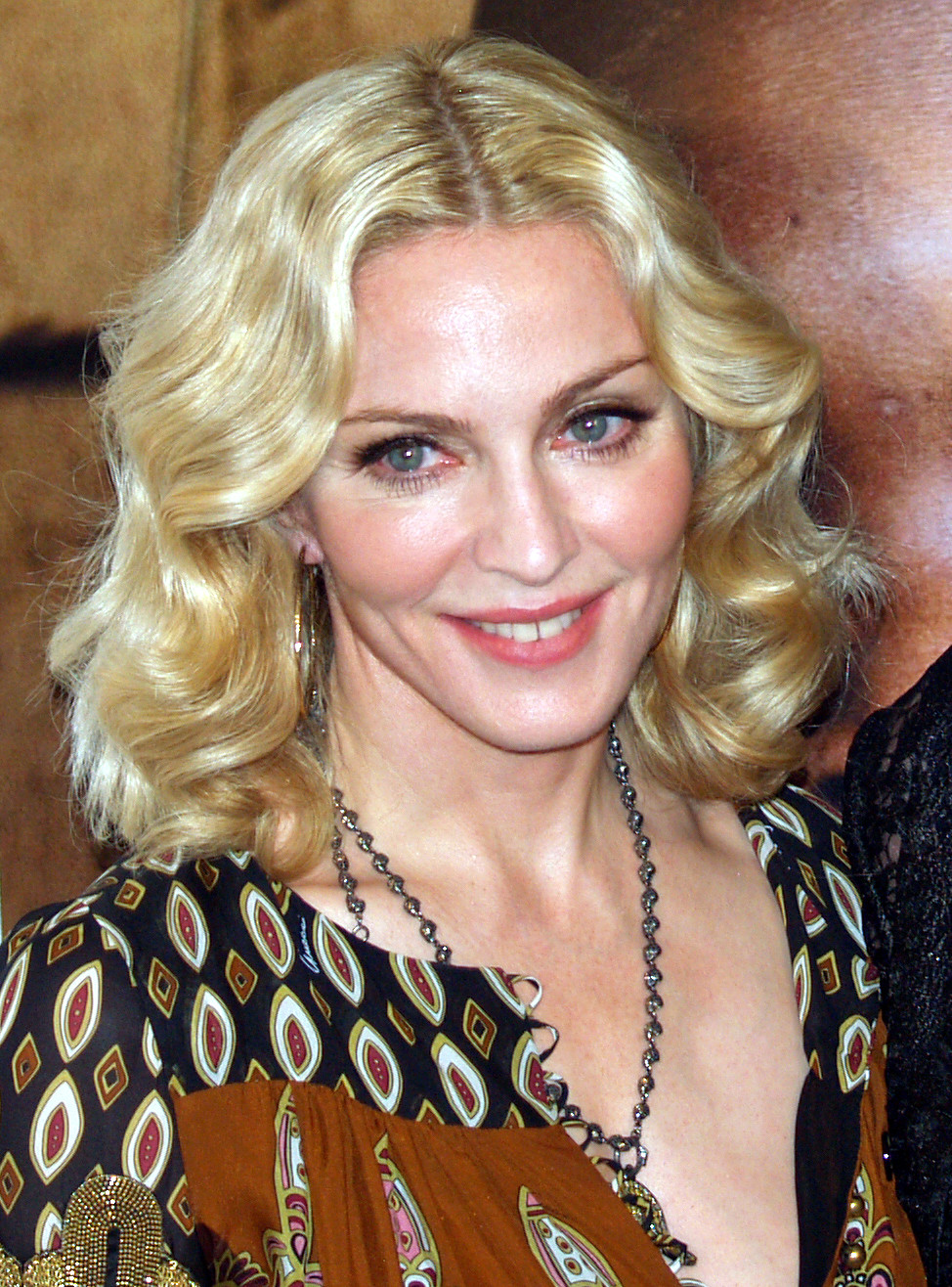Madonna at Premier of I Am Because We Are