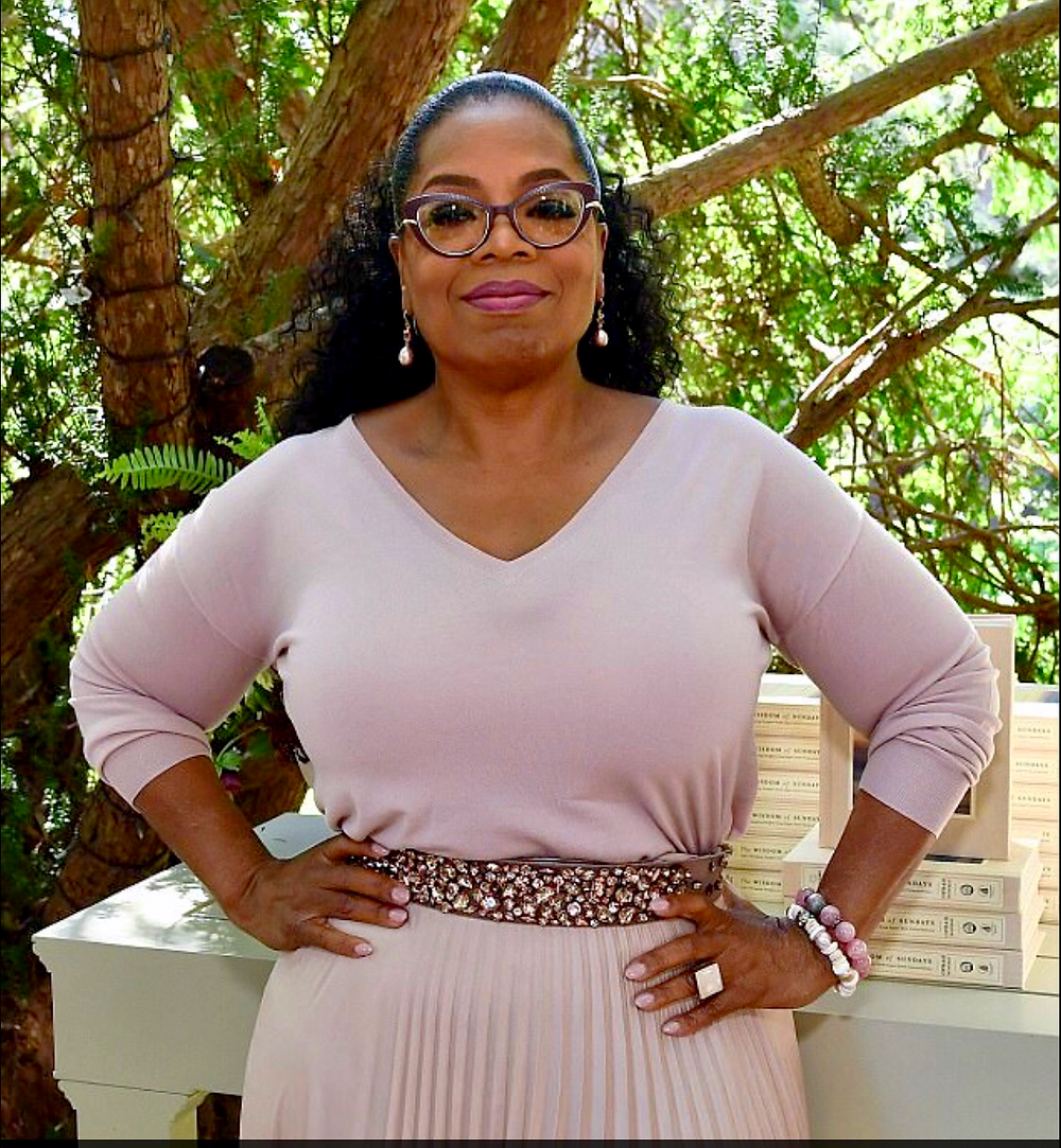Oprah Winfrey at Super Soul Sunday brunch for Wisdom of Sundays book