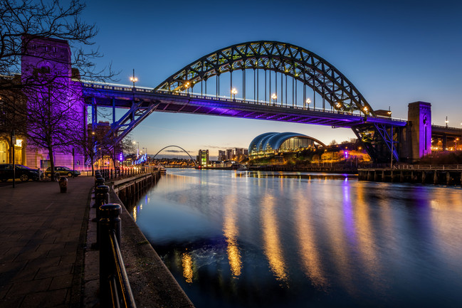 Tyne Bridge & Gateshead Quays