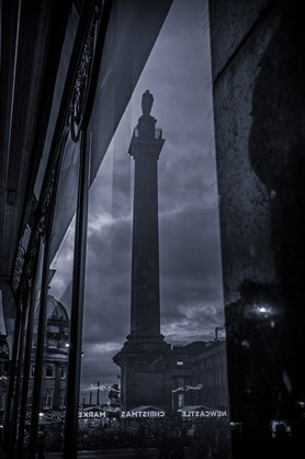 Grey's Monument Reflection