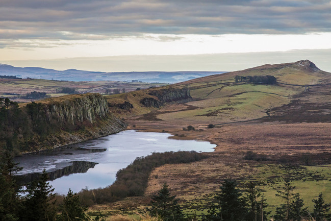 Crag Lough & Hadrian's Wall