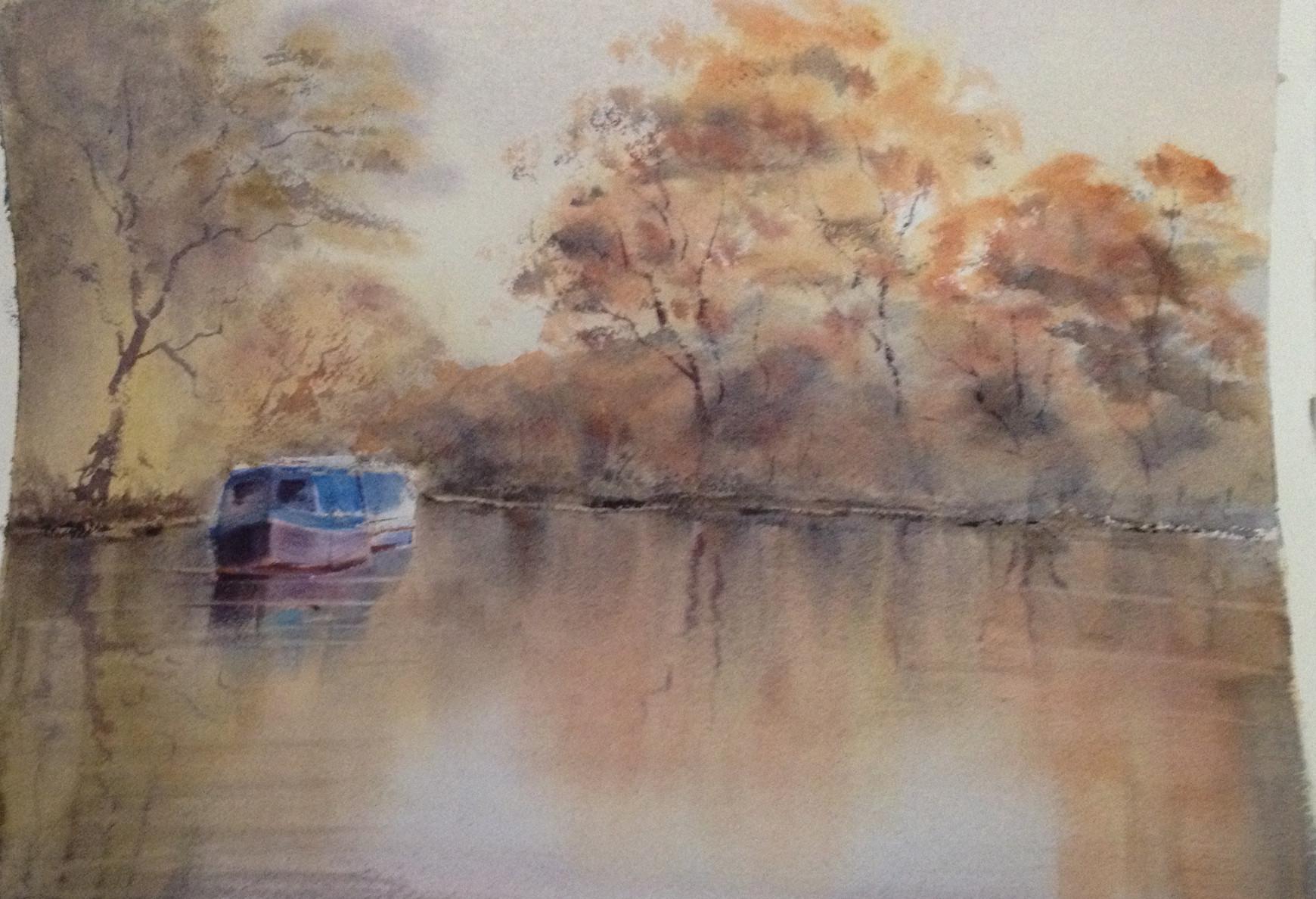 Art - Watercolour Tuesday Morning