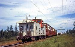 Soo Line Train, Laona