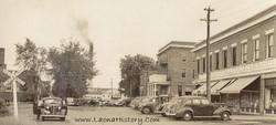 Mill Street, Laona, circa 1941