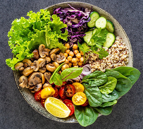 Plan vegano Semana A