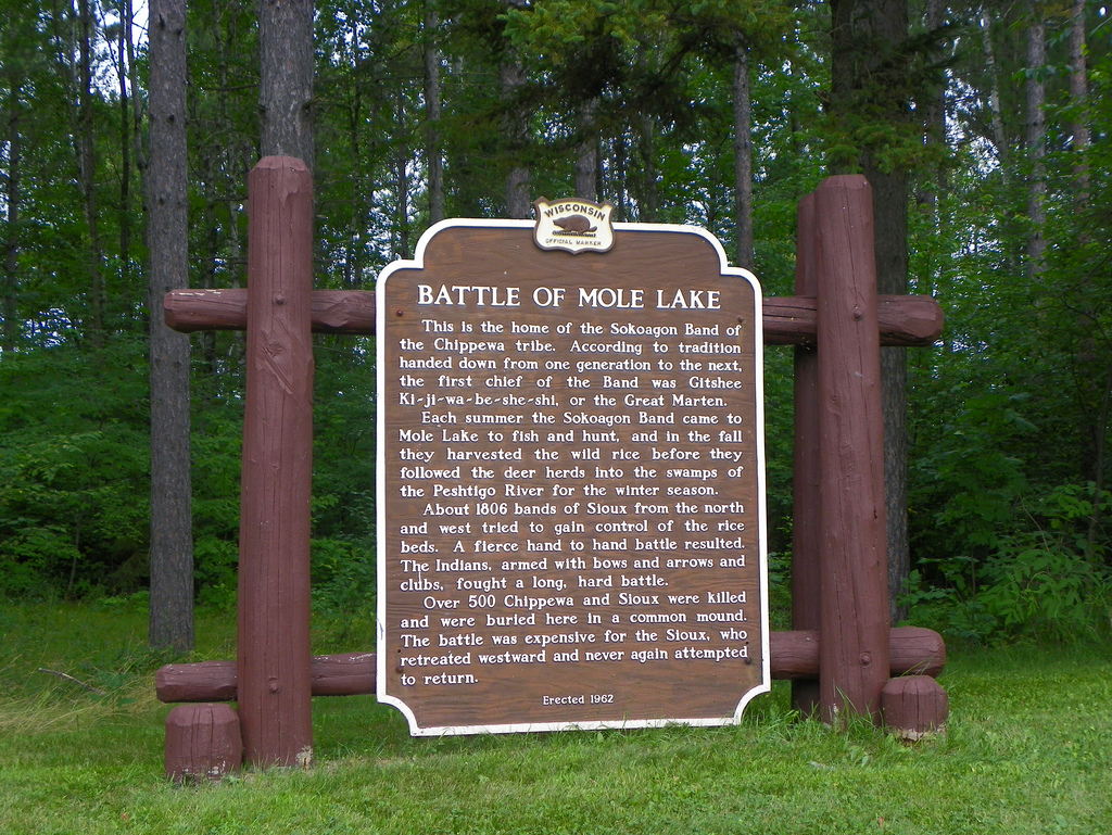 Battle of Mole Lake, Mole Lake