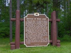 Battle of Mole Lake, Mole Lake