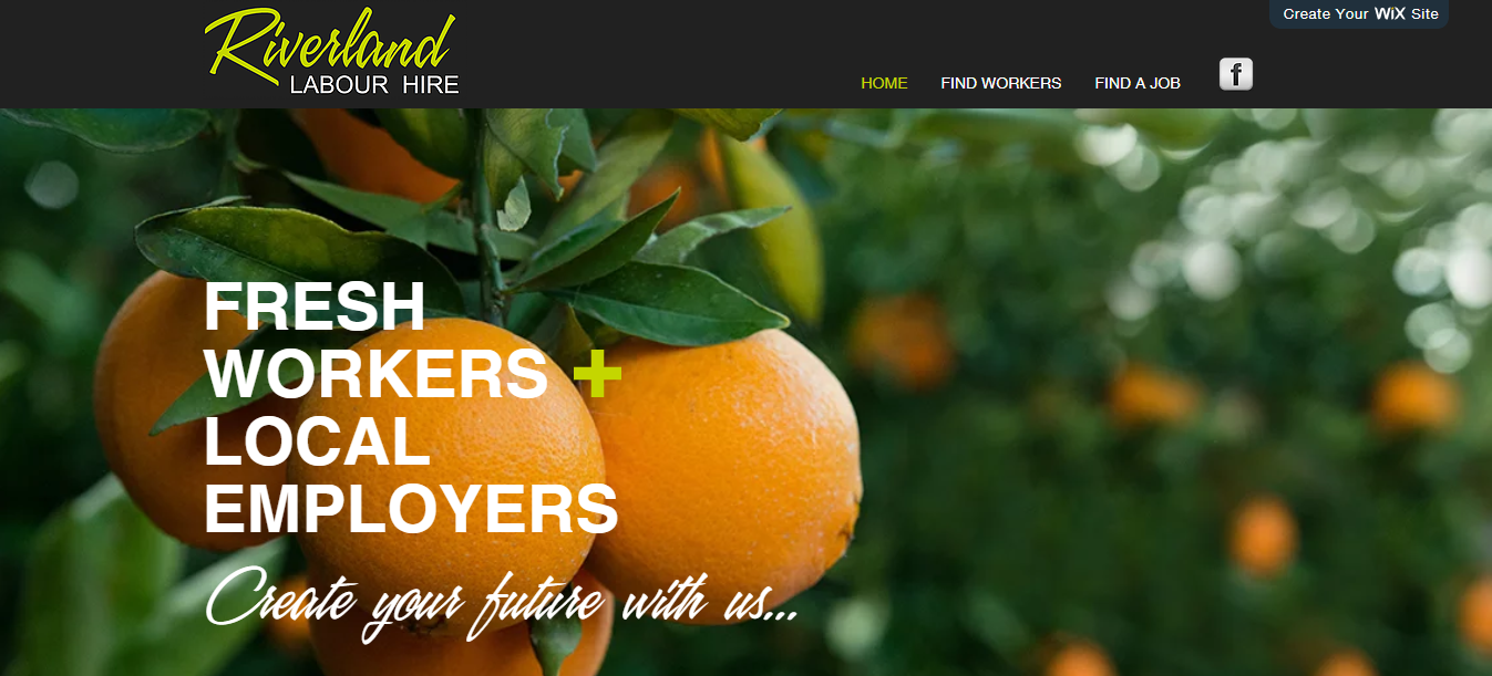 Riverland Labour Hire Home Page